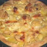 Tarte pommes de terre et panais
